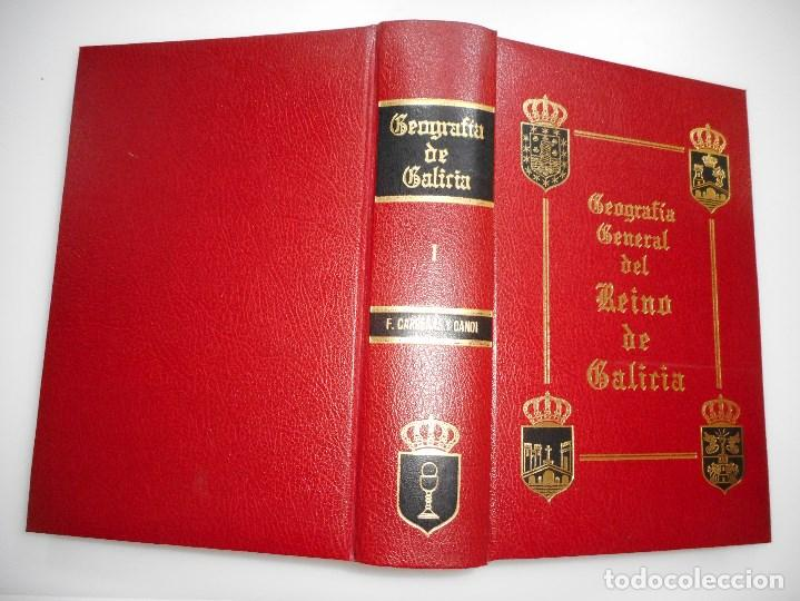 F. CARRERAS Y CANDI GEOGRAFÍA GENERAL DEL REINO DE GALICIA(13 TOMOS) Y93472 (Libros de Segunda Mano - Geografía y Viajes)