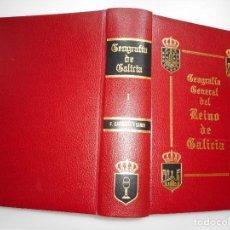 Libros de segunda mano: F. CARRERAS Y CANDI GEOGRAFÍA GENERAL DEL REINO DE GALICIA(13 TOMOS) Y93472. Lote 159217726