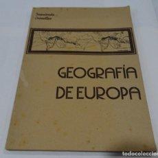 Libros de segunda mano: GEOGRAFIA DE EUROPA - IZQUIERDO CROSELLES 1945. Lote 159367126