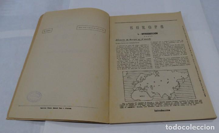 Libros de segunda mano: GEOGRAFIA DE EUROPA - IZQUIERDO CROSELLES 1945 - Foto 3 - 159367126