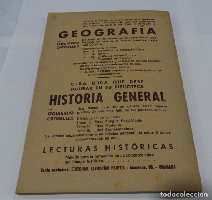 Libros de segunda mano: GEOGRAFIA DE EUROPA - IZQUIERDO CROSELLES 1945 - Foto 4 - 159367126