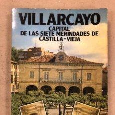 Libros de segunda mano: VILLARCAYO (CAPITAL DE LAS SIETE MERINDADES DE CASTILLA LA VIEJA). MANUEL LÓPEZ ROJO. EDITADO 1982.. Lote 159392756