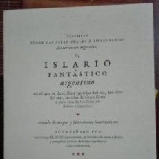 Libros de segunda mano: GARGIULO ET AL. ISLARIO FANTÁSTICO ARGENTINO. 2018. Lote 159775082