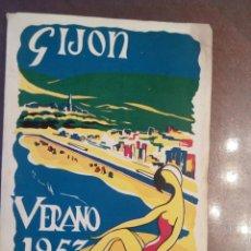 Libros de segunda mano: GIJÓN VERANO 1957 PORTFOLIO. Lote 159963162