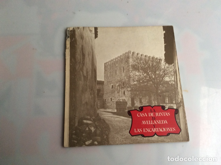 LA CASA DE JUNTAS DE AVELLANEDA Y LAS ENCARTACIONES, AÑO 1968 (Libros de Segunda Mano - Geografía y Viajes)