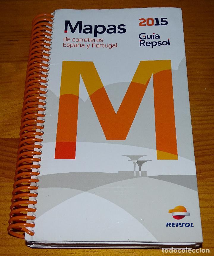 Guia Repsol 2015 Mapas De Carreteras De Espana Sold Through