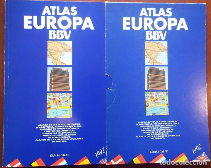 Atlas Europa Bbv Espasa Calpe 1992 Mapa Acheter Livres De