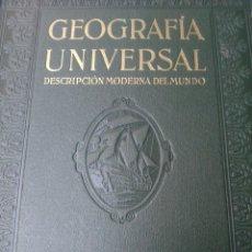 Libros de segunda mano: GEOGRAFÍA UNIVERSAL. Lote 160930758