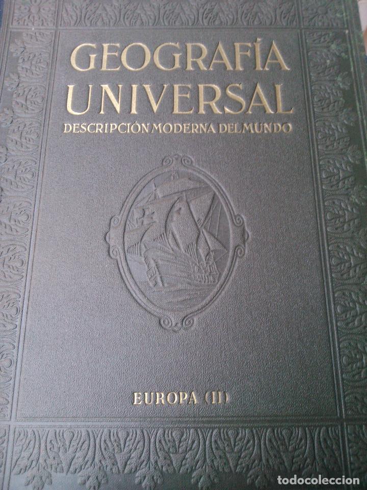 Libros de segunda mano: Geografía Universal - Foto 2 - 160930758