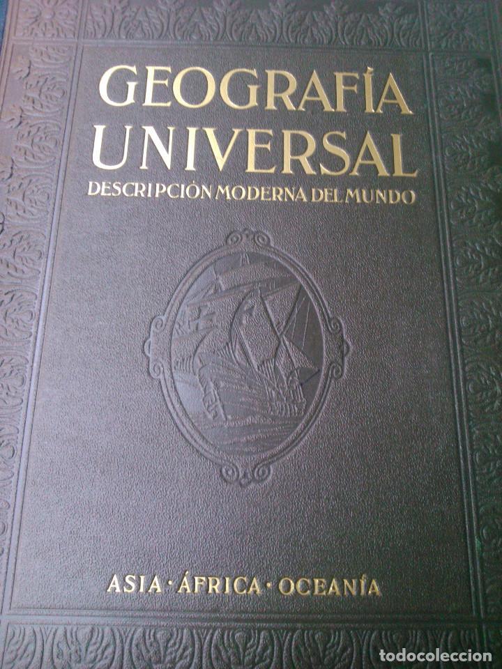 Libros de segunda mano: Geografía Universal - Foto 4 - 160930758