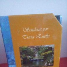 Libros de segunda mano: SENDEROS POR TIERRA ESTELLA - FICHAS - PLANOS - PERFILES - CAJA NAVARRA. Lote 161101166