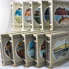 Libros de segunda mano: GEOGRÁPHICA, EL HOMBRE Y LA TIERRA. Lote 162912546
