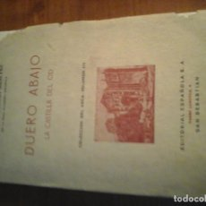 Libros de segunda mano - Duero abajo.la castilla del cid.primera edición 1940.federico García sanchiz - 163784518
