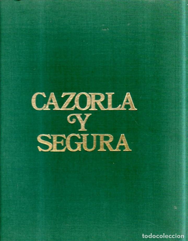CAZORLA Y SEGURA. ALVARO SILVA Y MORA. 1976. (Libros de Segunda Mano - Geografía y Viajes)