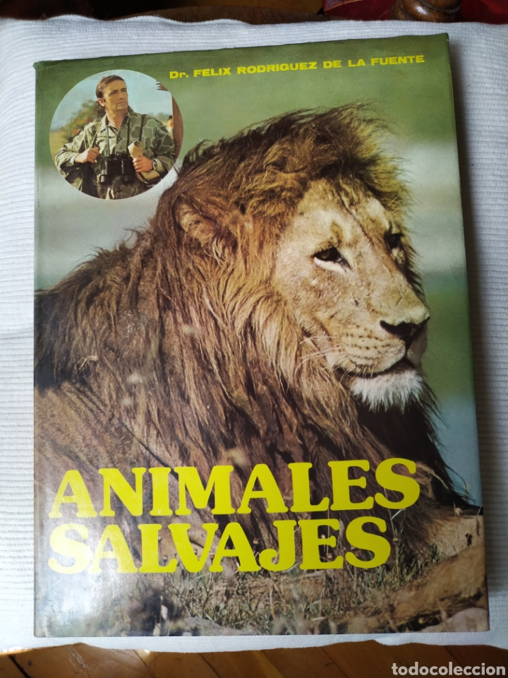 FELIX RODRÍGUEZ DE LA FUENTE ANIMALES SALVAJES 1985 (Libros de Segunda Mano - Geografía y Viajes)