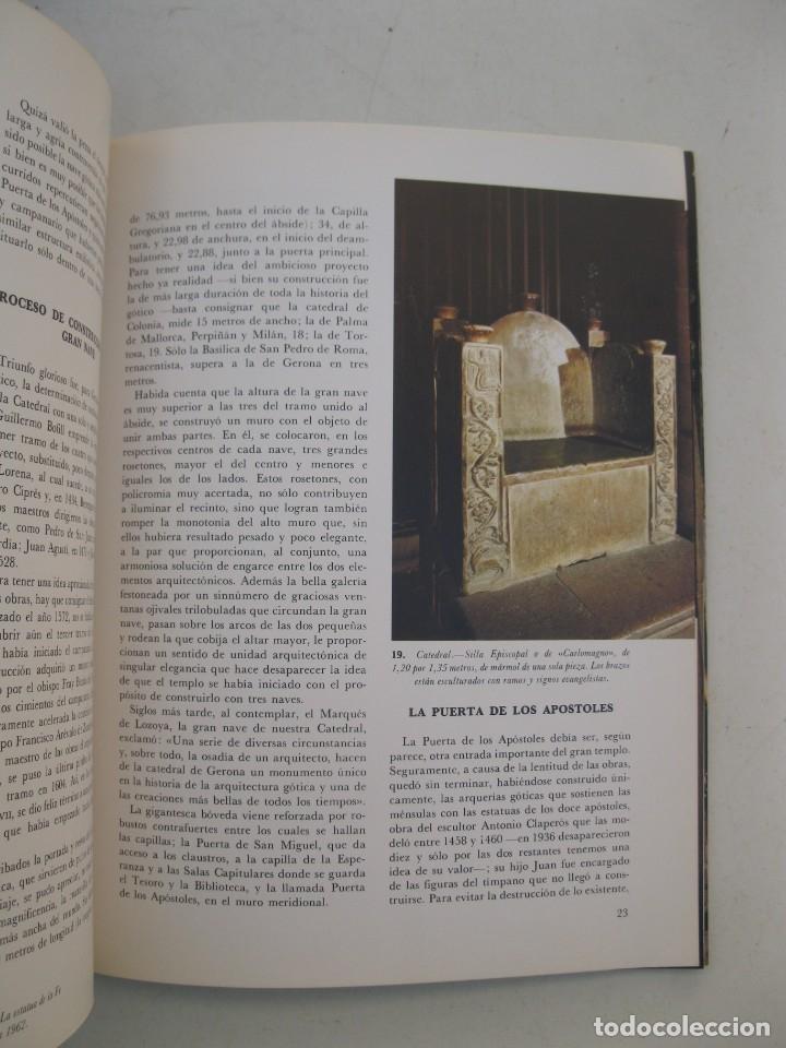 Libros de segunda mano: LA CATEDRAL DE GERONA - MARIANO OLIVER ALBERTI - EDITORIAL EVEREST - AÑO 1973. - Foto 2 - 165354662