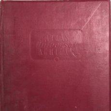 Libros de segunda mano: ATLAS UNIVERSAL AGUILAR. JOSE AGUILAR. AGUILAR EDICIONES. MADRID, 1958.. Lote 165599846