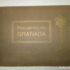 Libros de segunda mano: RECUERDO DE GRANADA. - LINARES, ABELARDO. C.1940.. Lote 123208382