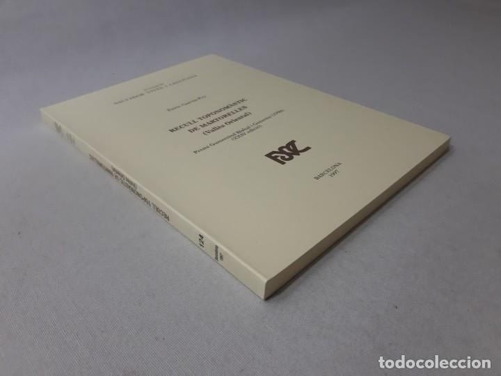 Libros de segunda mano: Recull toponomàstic de Martorelles (Vallès Oriental) por Enric Garcia-Pey (1997) - Garcia-Pey, Enric - Foto 2 - 166185432