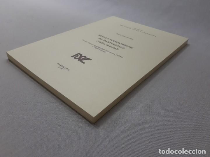 Libros de segunda mano: Recull toponomàstic de Martorelles (Vallès Oriental) por Enric Garcia-Pey (1997) - Garcia-Pey, Enric - Foto 3 - 166185432