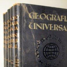 Libros de segunda mano: GEOGRAFIA UNIVERSAL (5 VOL. - COMPLETO) - BARCELONA 1963-1965 - ILUSTRADO. Lote 166358180