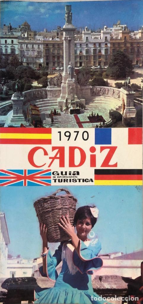 GUIA DE INFORMACION TURISTICA DE CADIZ. CADIZ, 1970. (Libros de Segunda Mano - Geografía y Viajes)