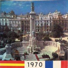 Libros de segunda mano: GUIA DE INFORMACION TURISTICA DE CADIZ. CADIZ, 1970.. Lote 166519526