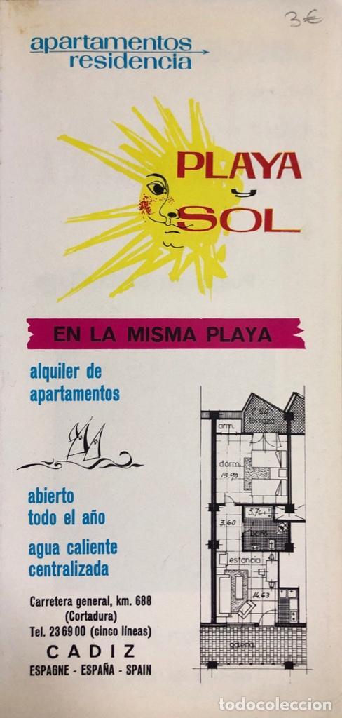 Libros de segunda mano: GUIA DE INFORMACION TURISTICA DE CADIZ. CADIZ, 1970. - Foto 2 - 166519526