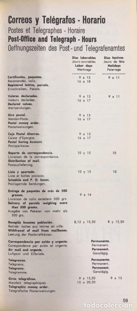 Libros de segunda mano: GUIA DE INFORMACION TURISTICA DE CADIZ. CADIZ, 1970. - Foto 3 - 166519526