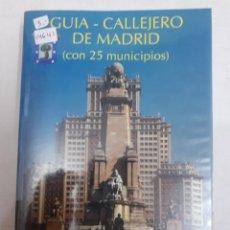 Libros de segunda mano: 14641 - GUIA - CALLEJERO DE MADRID ( CON 25 MUNICIPIOS ) - AÓ 2003. Lote 166600358