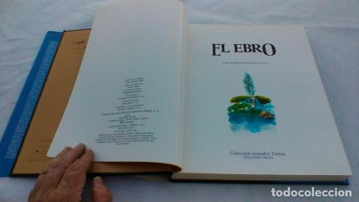 Libros de segunda mano: EL EBRO/ JOSE RAMON MARCUELLO CALVIN/ ED OROEL/ COLECCIÓN GRANDES TEMAS/ G102 - Foto 5 - 166723062