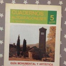 Libros de segunda mano: GUIA MONUMENTAL Y ARTISTICA DE SERRABLO, ANTONIO DURAN GUDIOL, DOMINGO BUESA CONDE. Lote 166851402