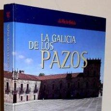 Libros de segunda mano: B3274 - LA GALICIA DE LOS PAZOS. COMPLETO Y ENCUADERNADO. GRAN FORMATO.. Lote 194907220