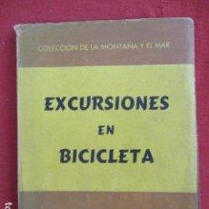 Libros de segunda mano: EXCURSIONES EN BICICLETA MOYA DURAN, JAIME. Lote 167643804