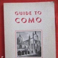 Libros de segunda mano: GUIDE TO COMO (EN INGLES). Lote 167644992