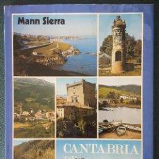 Libros de segunda mano: CANTABRIA DE PUEBLO EN PUEBLO III. MANN SIERRA. FOTOGRAFÍA PABLO HOJAS. Lote 208750067