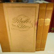 Libros de segunda mano: REALES SITIOS. 3 TOMOS. PATRIMONIO NACIONAL. AÑOS 60. . Lote 168267788