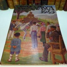 Libros de segunda mano: VIDA VASCA. NÚMERO XXII. ILUSTRACIONES JOSÉ ARRUE. LÁMINAS SOBRE CARTÓN. FOTOGRAFÍAS Y PUBLIC 1945. . Lote 168338596