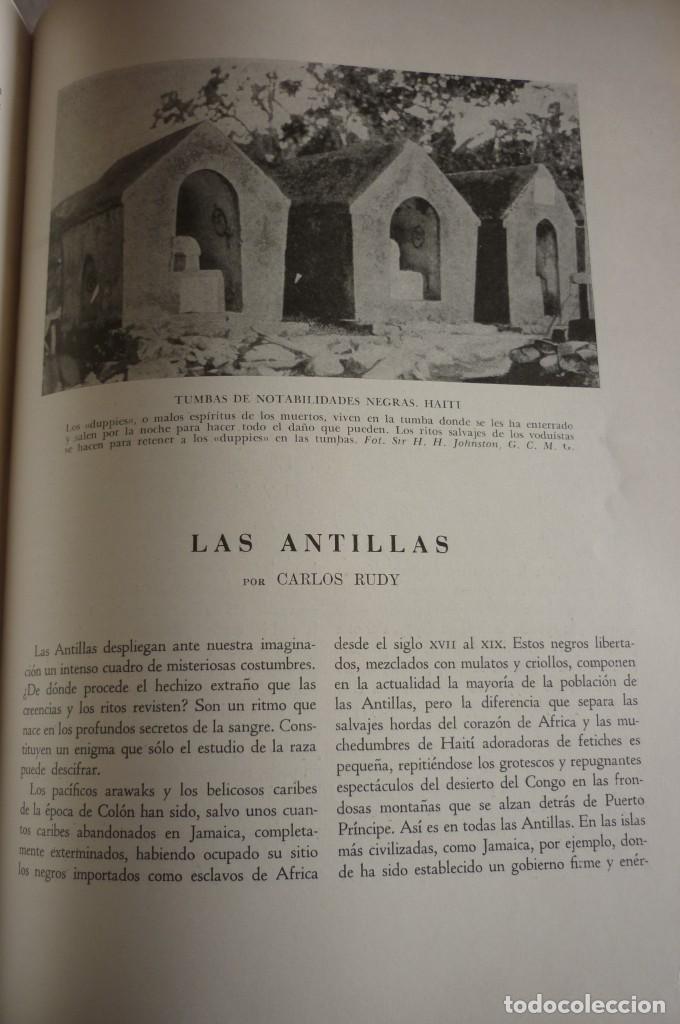 Libros de segunda mano: COSTUMBRES DEL UNIVERSO. COMPLETA. DOS TOMOS. MONTANER Y SIMON S.A. - Foto 12 - 168373036