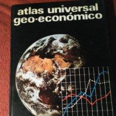 Libros de segunda mano: ATLAS UNIVERSAL GEO-ECONÓMICO. ED. TEIDE. BARCELONA 1977. Lote 168647184
