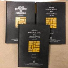 Libri di seconda mano: ATLES TOPOGRÀFIC DE CATALUNYA 1:50000 (3 TOMOS). INSTITUTO CARTOGRÀFIC DE CATALUNYA (1995). Lote 168829564