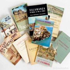 Libros de segunda mano: LOTE 10 LIBROS GUÍAS DE CIUDADES ESPAÑOLAS. DESDE 1950. Lote 168980316