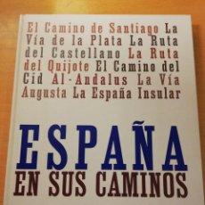 Libros de segunda mano: ESPAÑA EN SUS CAMINOS (JESÚS ÁVILA GRANADOS) BBVA. Lote 169023908