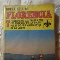 Libros de segunda mano: LV 29 NUEVA GUÍA DE FLORENCIA - 7 ITINERARIOS ILUSTRATIVOS CON 200 FOTOGRAFÍAS... ED BECOCCI . Lote 169033216