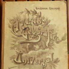 Libros de segunda mano: ATLAS GEOGRAFICO UNIVERSAL - SALVADOR SALINAS - 1948 - 25ª EDICION. Lote 169244032