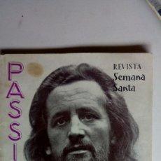 Libros de segunda mano: GANDIA. LIBRO SEMANA SANTA PASSIO. AÑO 1962. MUCHA PUBLICIDAD. Lote 169302504