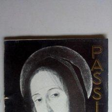 Libros de segunda mano: GANDIA. SEMANA SANTA PASSIO. AÑO 1966. MUCHA PUBLICIDAD. Lote 169302804