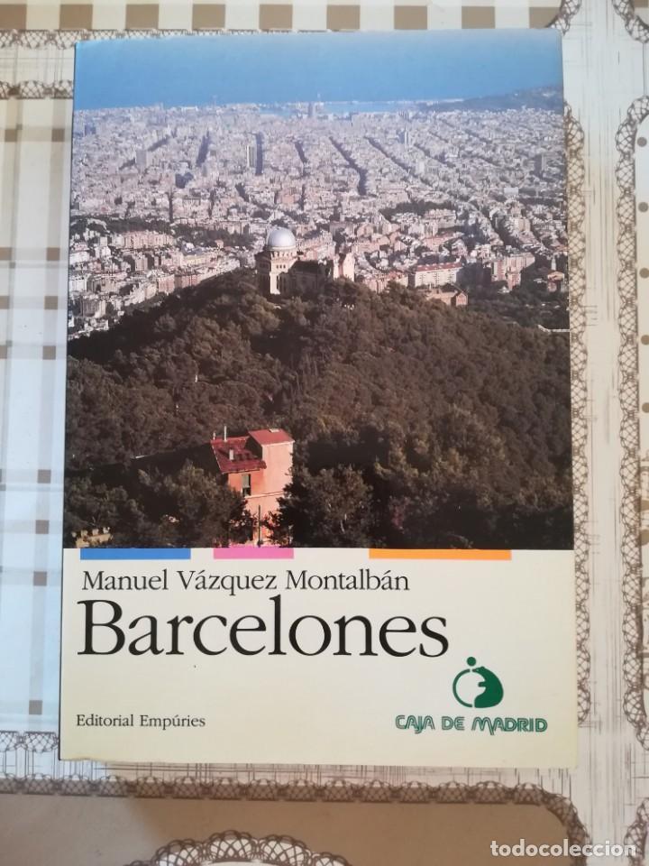 BARCELONES - MANUEL VÁZQUEZ MONTALBÁN - EN CATALÀ (Libros de Segunda Mano - Geografía y Viajes)