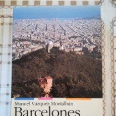 Libros de segunda mano: BARCELONES - MANUEL VÁZQUEZ MONTALBÁN - EN CATALÀ. Lote 169912928