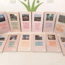 Libros de segunda mano: 12 GUIA SENDERISMO Y RUTAS CICLOTURISTAS.. Lote 170094200